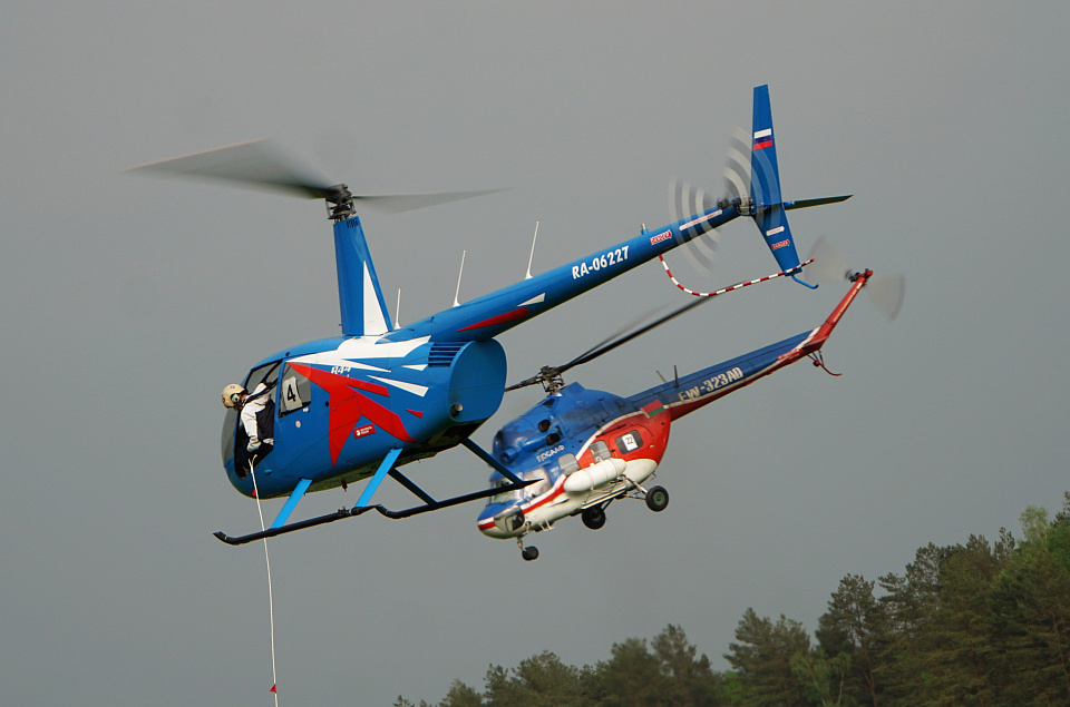 The Russian open helicopter sport championship