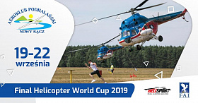 The final stage of Helicopter World Cup 2019 will take place in Poland